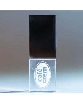 USB CRISTAL Y LUZ