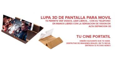 LUPA 3D DE PANTALLA PARA MOVIL