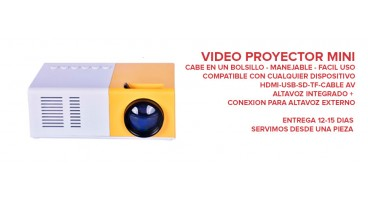 VIDEO PROYECTOR MINI