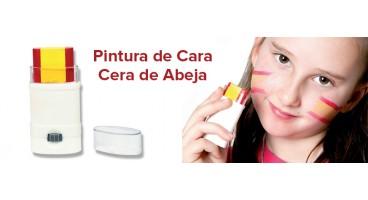 PINTURA DE CARA DE CERA DE ABEJA