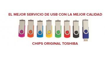 EL MEJOR SERVICIO DE USB CON LA MEJOR CALIDAD