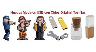NUEVOS MODELOS USB CON CHIP ORIGINAL TOSHIBA